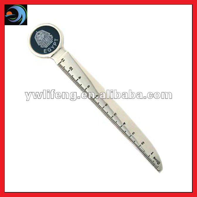 2012 Multi-function Metal Letter Opener With Knife Ruler
