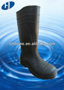 2014 Newest Design 100%waterproof PVC / NITRILE RUBBER GUMBOOT