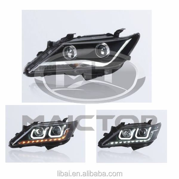Good Quality Restyle Headlight Headlamp for Toyota Camry modified 2012 2013