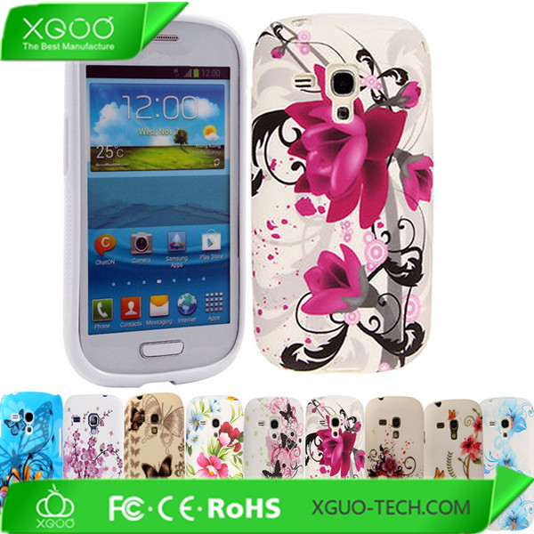 customized pattern soft case for samsung galaxy s3 mini