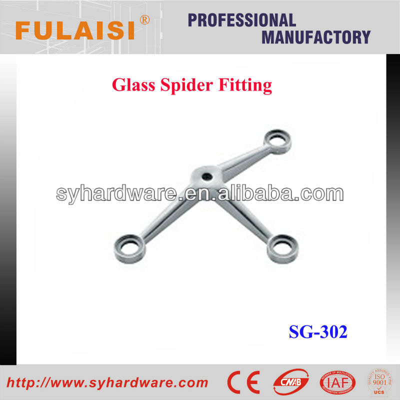 High Quality Glass Wall Fitting Spider