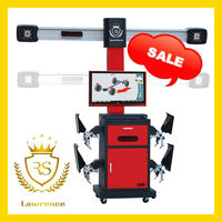 Lawrence RS-8 V3D Wheel Alignment equipment workshop car