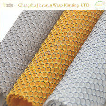 AR50 Softable 100% polyester cool dry hexagonal mesh sandwich fabric for mattress