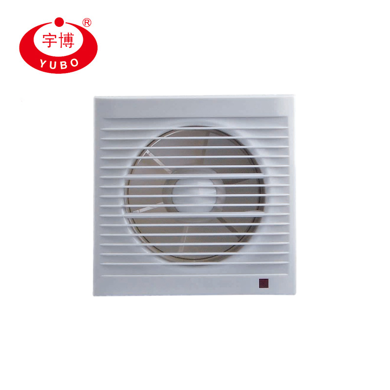 2018 Hot Sell Whole Plastic Square Wall Mounted Ventilation <strong>Exhaust</strong> Fan