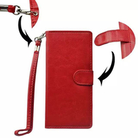 5 Inch Universal Phone Case Wallet Style Flip Stand Leather Case for iPhone 6 and for Samsung Galaxy S6 etc