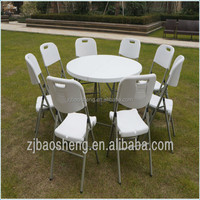 outdoor pinic camping banquet plastic metal fram folding chair stackable chairs