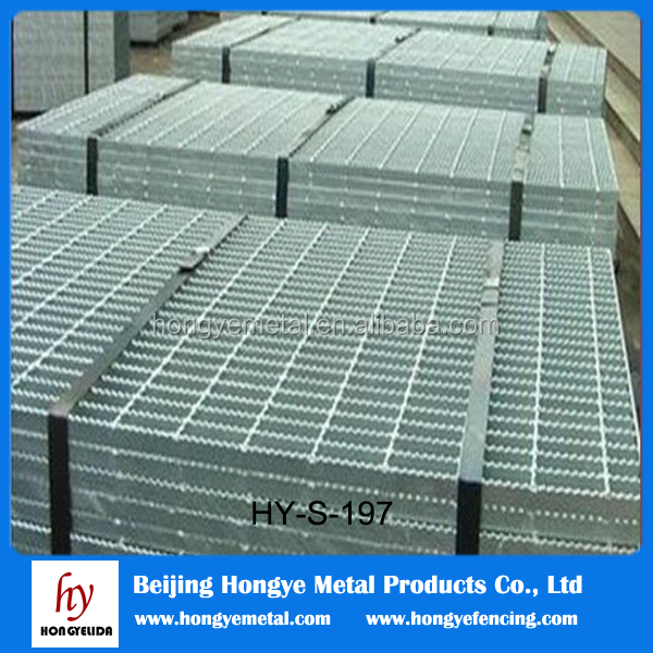 Die-casting aluminum grate panel/interchangeable with steel panel