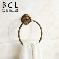 bath design with brass and Antique bronze finishing towel rings