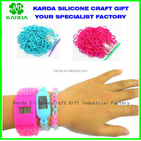 how to make beautiful camouflage rubber band watch bracelet 24mm