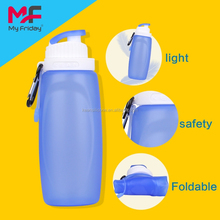 Large reusable water bottle and plastic 8 oz reusable water bottle