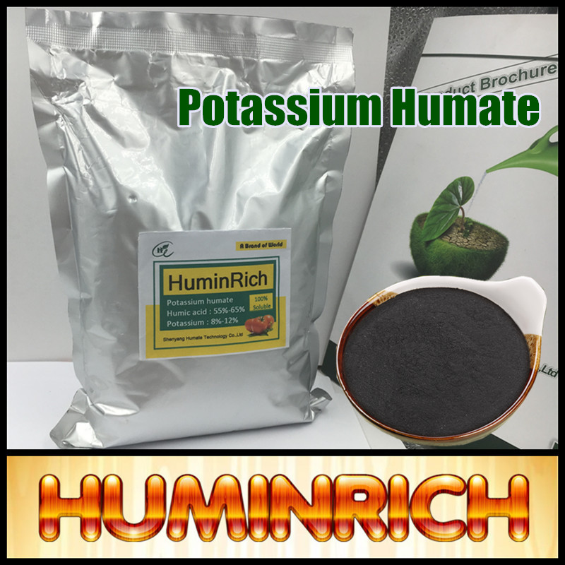 Huminrich Leonardite Source High Potash Fertilizer 95% Super Potassium Humate