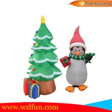 inflatable Christmas tree indoor,cheap inflatable tree for christmas decoration