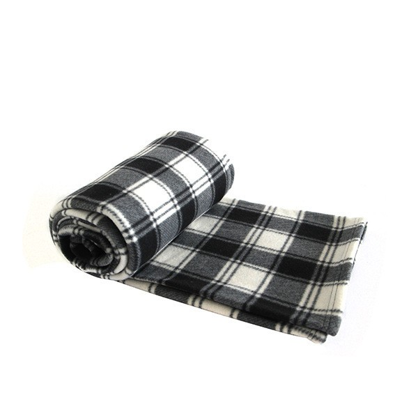 High Quality Plaid Style Anti-Pilling Polar Fleece