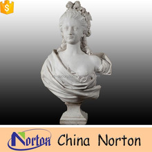 Women decorate the house half-naked marble bust sculpture NTMS-B003L