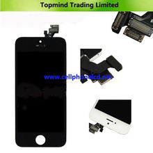 For iPhone 5 Display with Digitizer with Frame Assembly LCD Display Parts For China Mobile Phones Cheap Touch Screen Mobile Phon