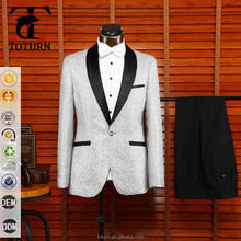 2016 New Fashion Comfortable fabric made in china Wholesale OEM Formal gem embroidery design 2 piece men wedding suits pictures