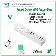 EDG1016 remote control socket APP wireless wifi smart socket by android ios phone remotely