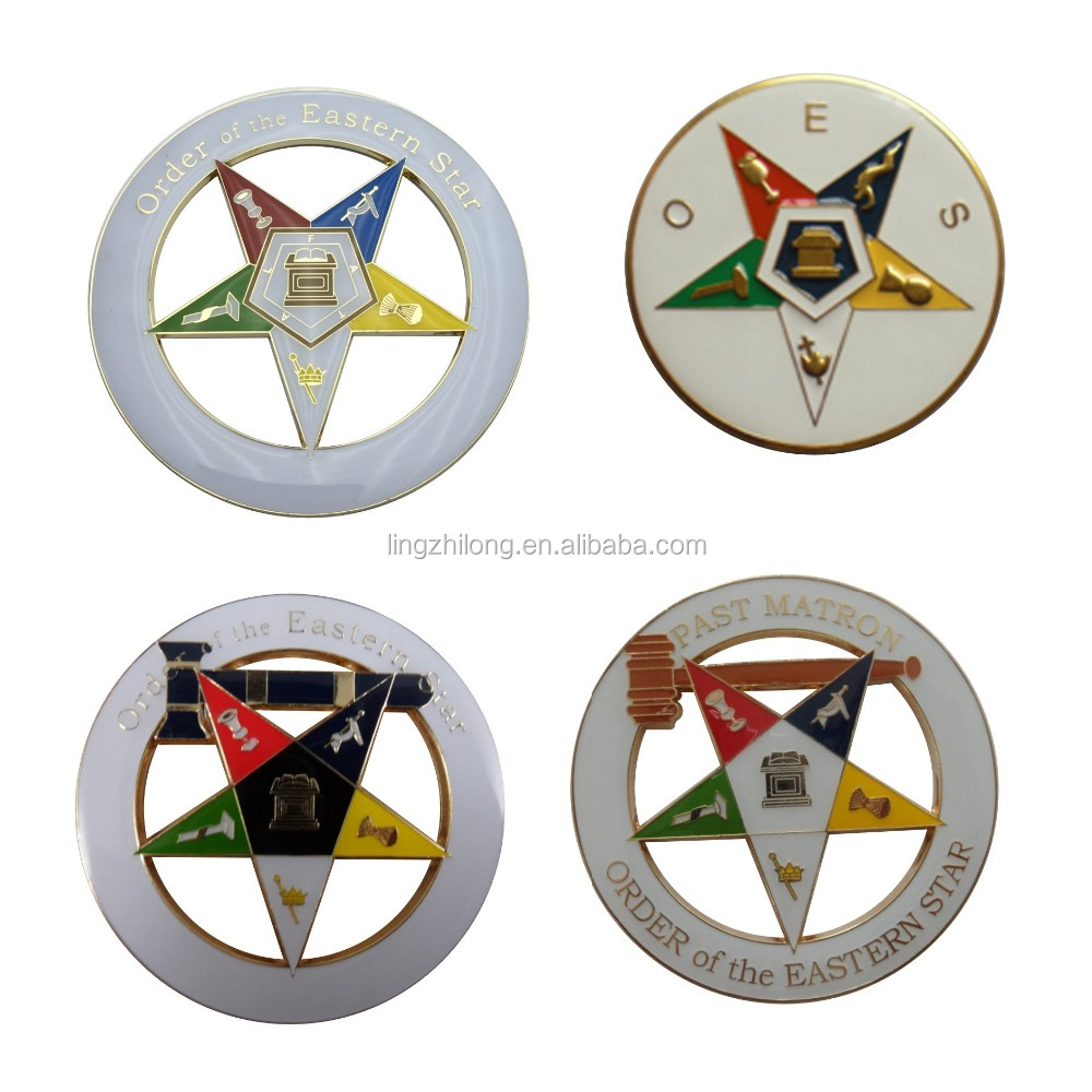 OES Items Order of the Eastern Star Masonic Car Emblem