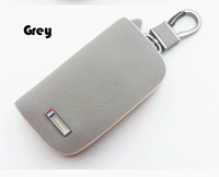 5 colors car key case for Hyundai Mazda Honda Jaguar Mitsubishi