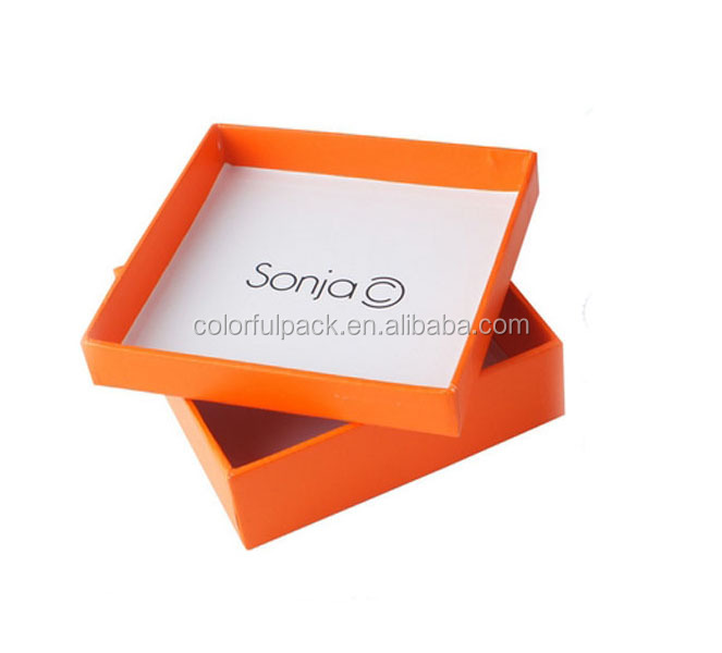 custom design logo printed luxury gift box packaging