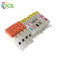 OCBESTJET New ink cartridge compatible for canon PGI-72 for canon PRO-100 printer for PGI-72 canon Refillable Cartridge