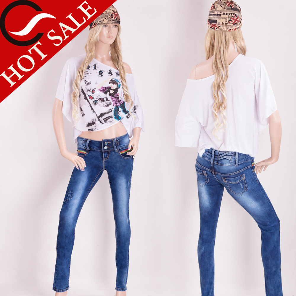 wholesale colombian jeans levanta cola