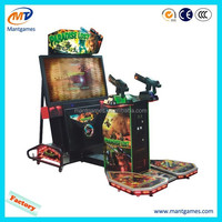 Aliens Paradise amusement coin operated electronic indoor arcade shooting gun simulator game machine for game center cabinet