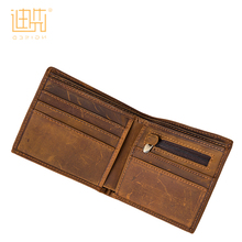 Multi-purpose zippered classical manufacture foldable pocket <strong>wallet</strong> for men