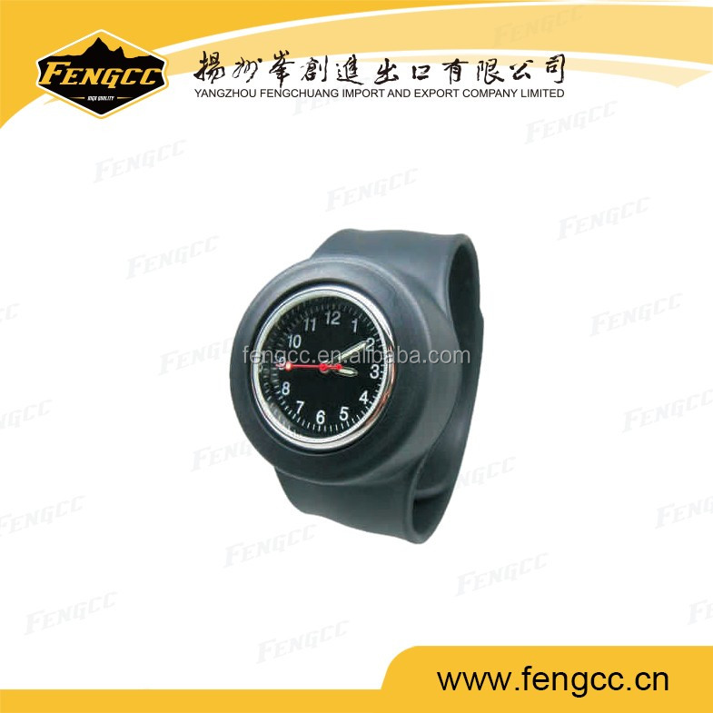 Cheap promotion silicone custom belt wristwatch