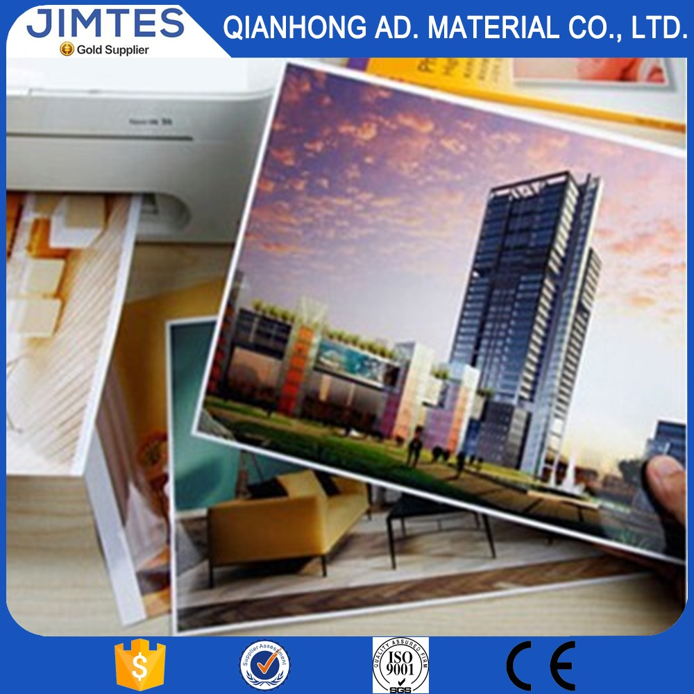Jimtes 220g Factory supply roll RC glossy/ silky/luster/satin printing inkjet photo paper