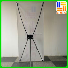 Economical x banner stand , pvc flex banner , roll up stand