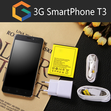 Cheapest China made functional mobile phone Multi language T3 smart phone