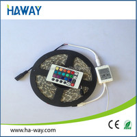 DC24V RGB led light strips with remote SMD505 54leds per meter