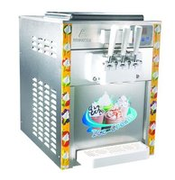 Less consumption three flavours ice cream machine