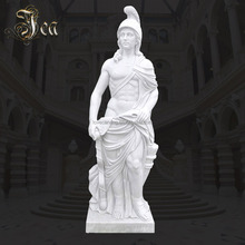 Outstanding Quality white marble life size male garden statues
