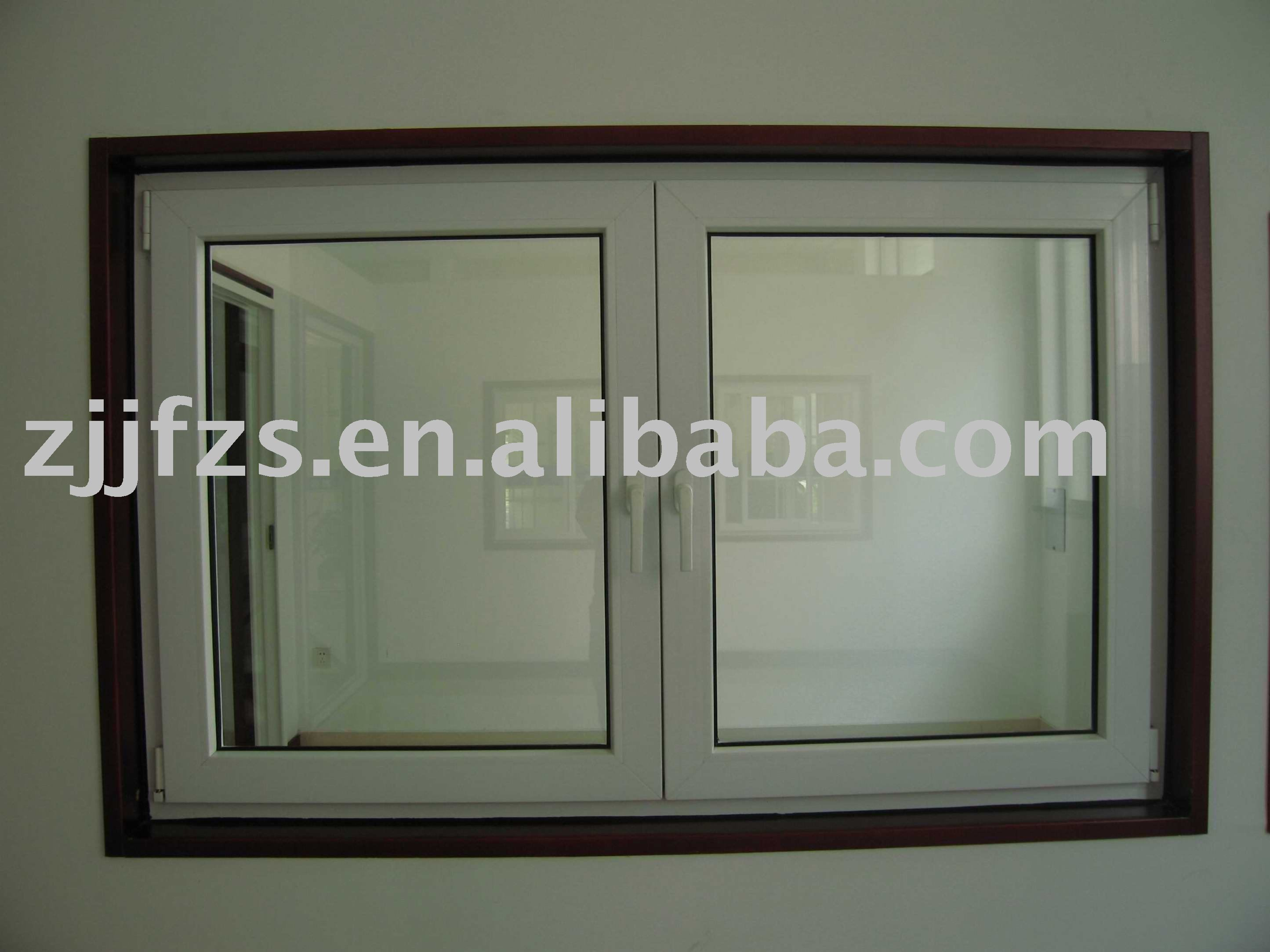 Cheap house PVC casement windows for sale
