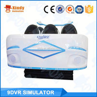 Oculus virtual reality simulator full motion flight simulator 9dvr egg shape cinema 9d simulator on salechildren