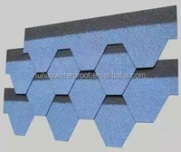 mosaic tile asphalt shingles for roofing construction