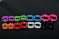 Thin Silicone Flexible Ear Skin custom Flesh Tunnels Plugs Gauges 12mm-22mm