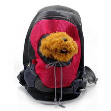 Fashion Mesh Breathable Pet Cat Bag Outdoor Dog Carrier Backpack
