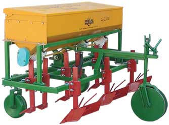Potato Cultivator-Fertilizer-Farrow-er 3 rows