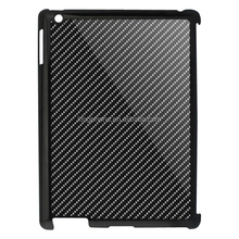 2016 New tablet case real carbon fiber cover PC shell for iPad 2/3/4