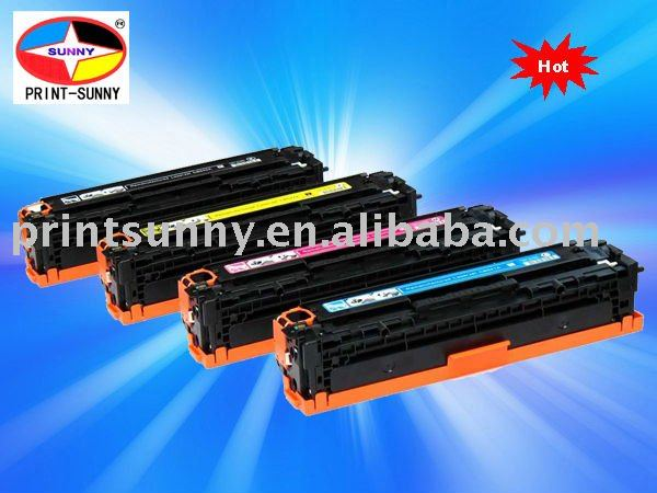 LaserJet color toner cartridge for HP CB540/541/542/543