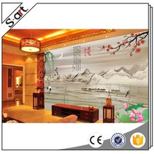 Quality primacy attractive 3d bamboo design wall murals wallpaper