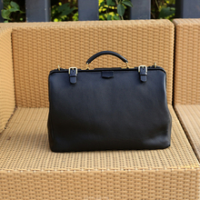 Wholesale genuine leather men's handbag business briefcase custom laptop shoulder bags for men