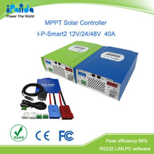 DC 12V/24V/48V automatic recognition 20A-60A series mppt solar charge controller
