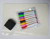 good finish Portable kids drawing whiteboard with colorful marker set