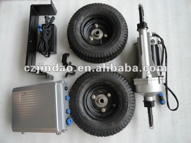 electric wheel barrow motor kit
