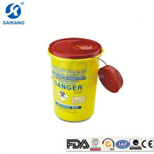 ISO9001&13485 Certification Cheap Very Small Plastic Box For Sharps