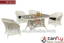 2013 fashionpatio dining set Rattan garden dinner table wicker dining chair outdoor furniture